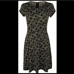 MICHAEL KORS Moss Snake Print Dress Size XS